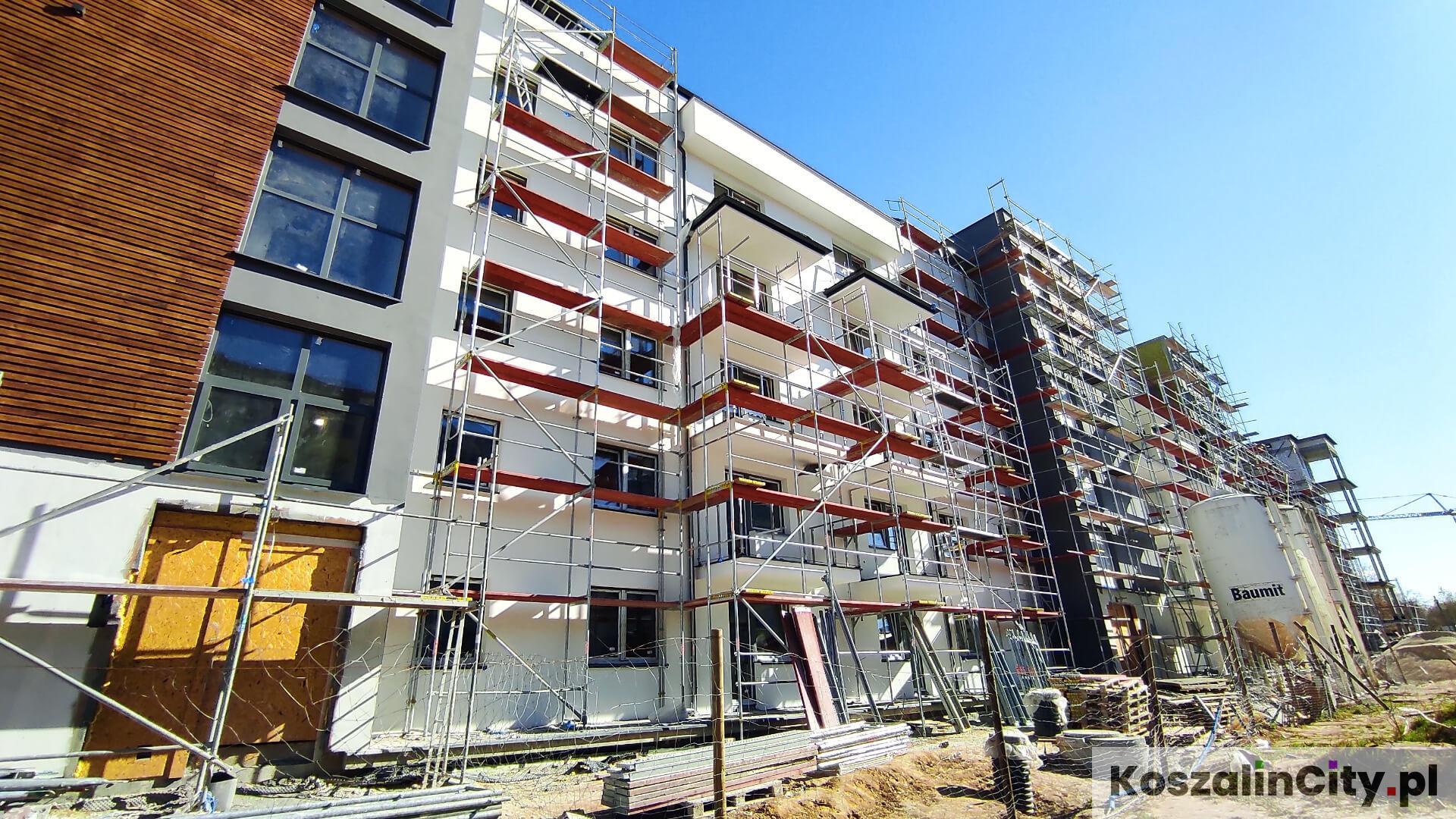 Nowe mieszkania przy ulicy Hallera w Koszalinie