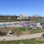 Plac zabaw na Wodnej Dolinie w Koszalinie