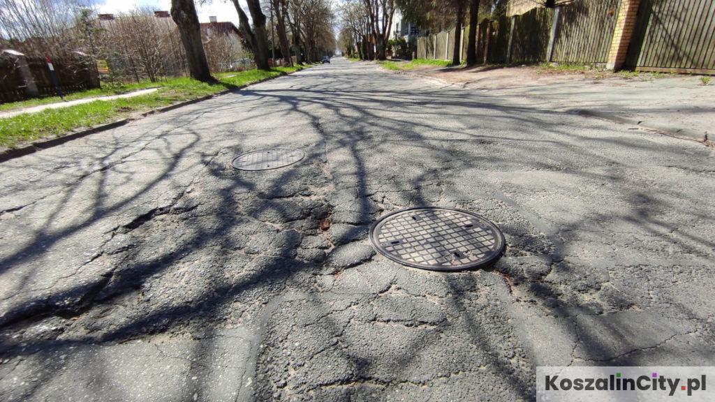 Ulica w Koszalinie