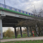 Zawalił się wiadukt drogowy w Koszalinie