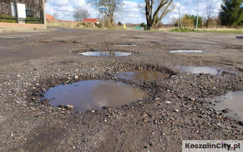 Ulica Diamentowa i Rubinowa w Koszalinie