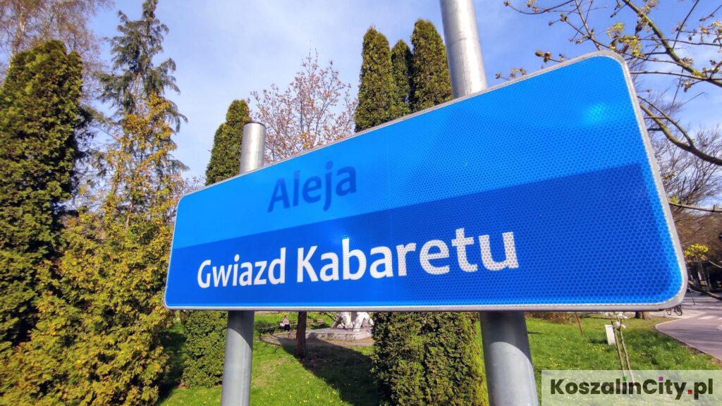Aleja Gwiazd Kabaretu w Koszalinie