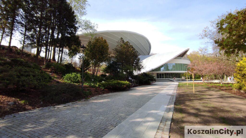 Amfiteatr w Koszalinie - Park przy Amfiteatrze