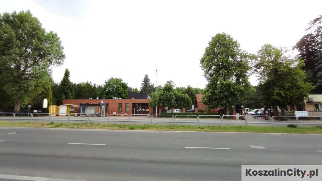 Cmentarz Komunalny w Koszalinie - główne wejście