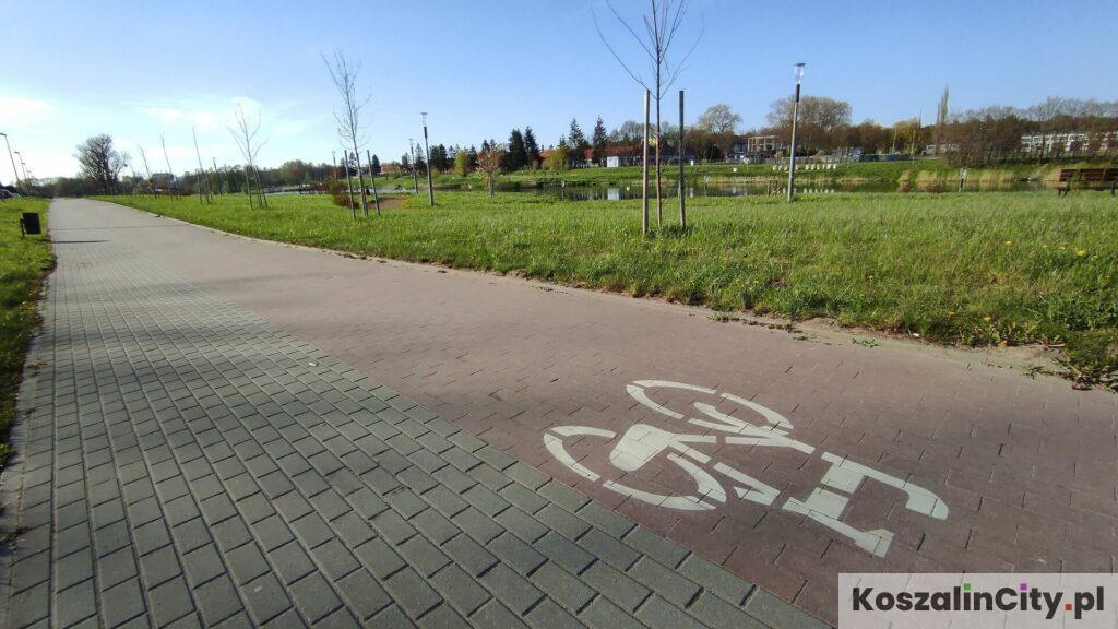 Ścieżka rowerowa - Wodna Dolina w Koszalinie