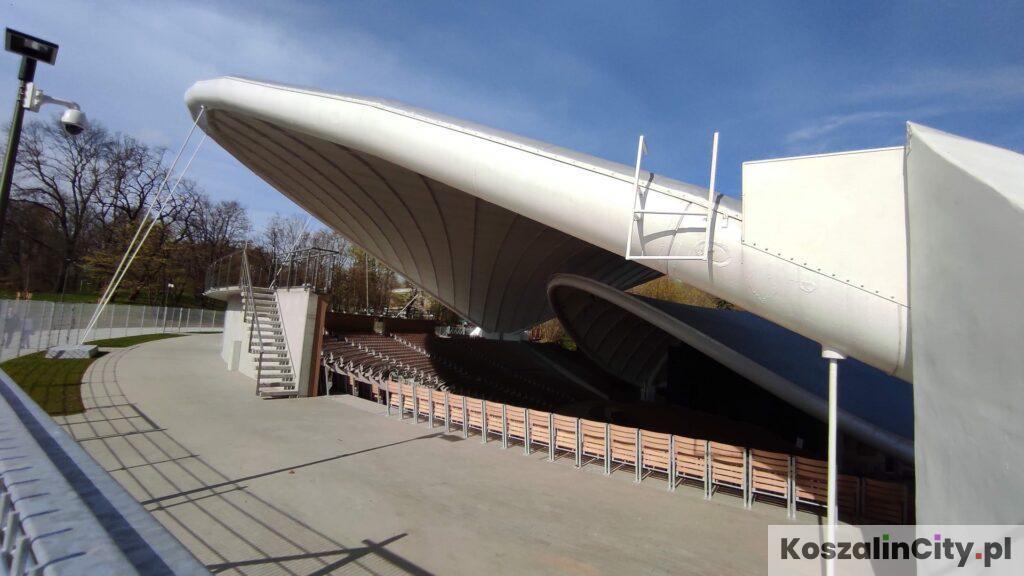 Zadaszenie amfiteatru w Koszalinie