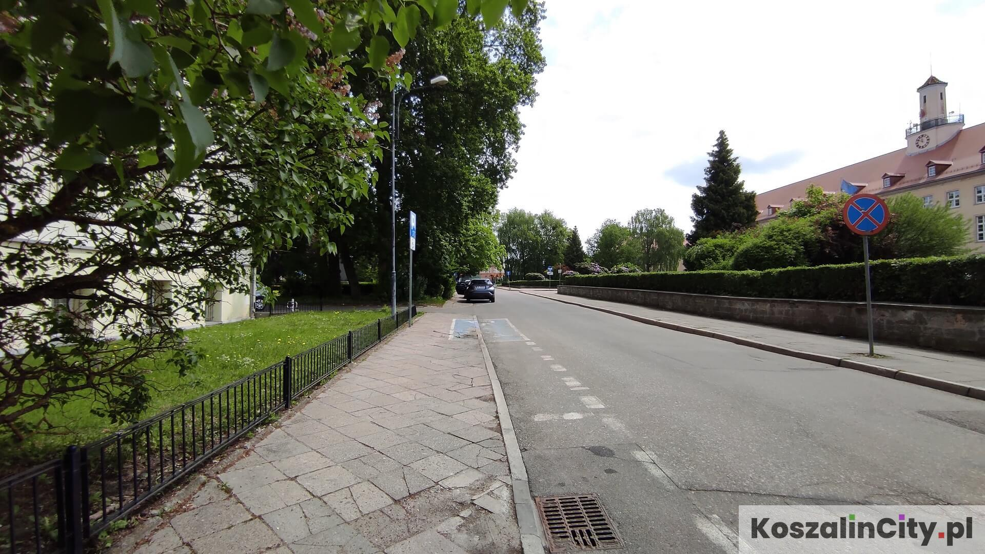 Parking przy Sądzie Rejonowym w Koszalinie - płatna strefa parkingowa