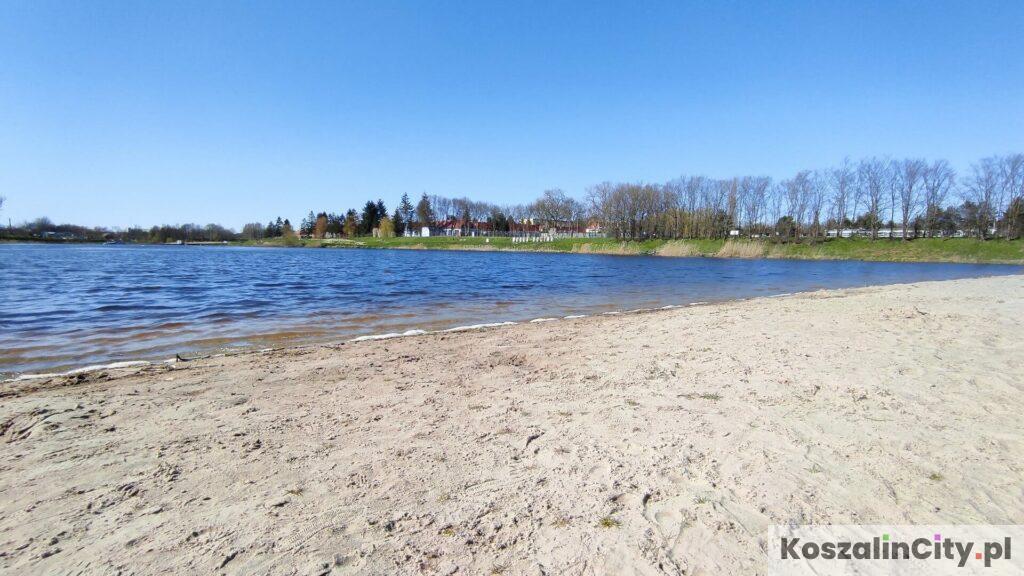 Plaża na Wodnej Dolinie w Koszalinie