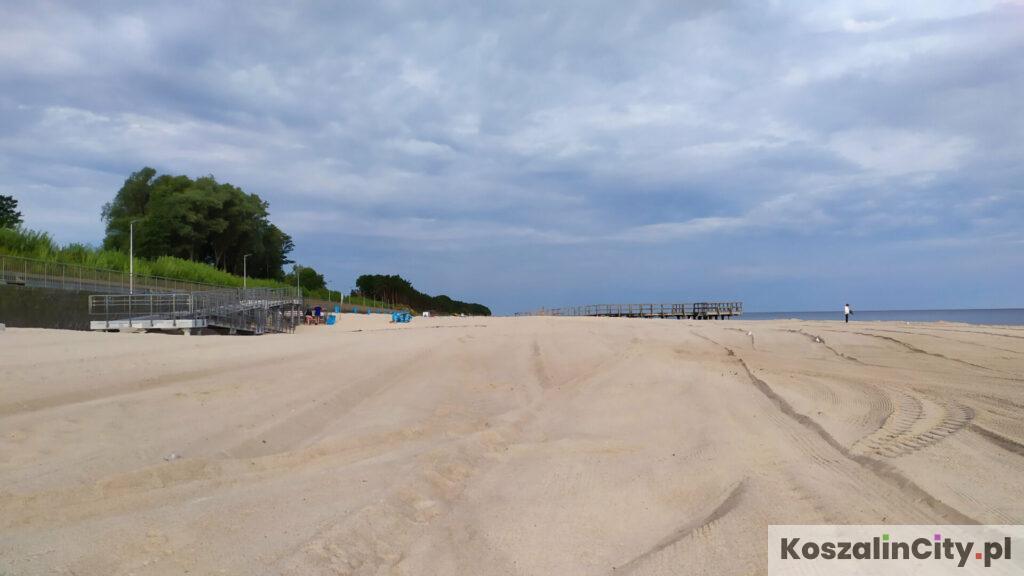 Plaża w Sarbinowie zajmuje czołowe miejske na liście zawierającej najlepsze plaże w okolicach Koszalina