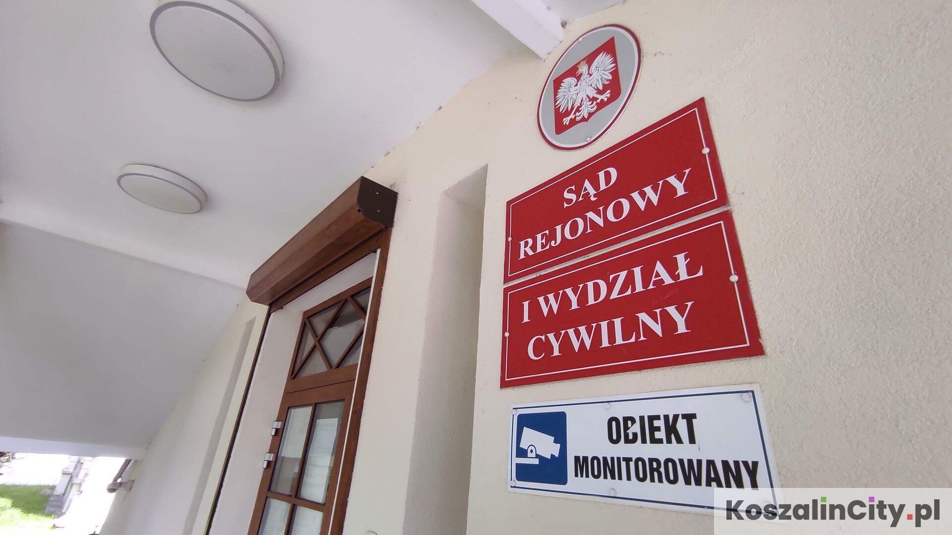 Sąd Rejonowy - I Wydział Cywilny w Koszalinie