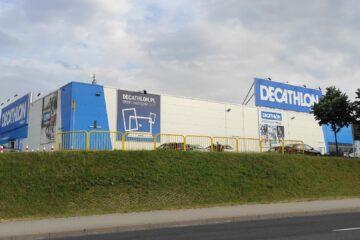 Sklep sportowy Decathlon w Koszalinie