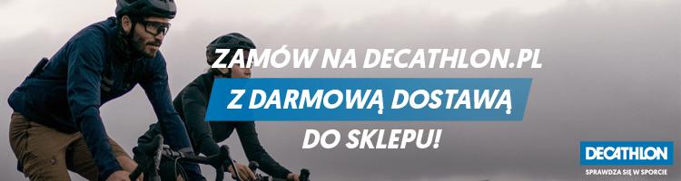 Zakupy online w Decathlon z odbiorem osobistym w Koszalinie lub dostawą do domu