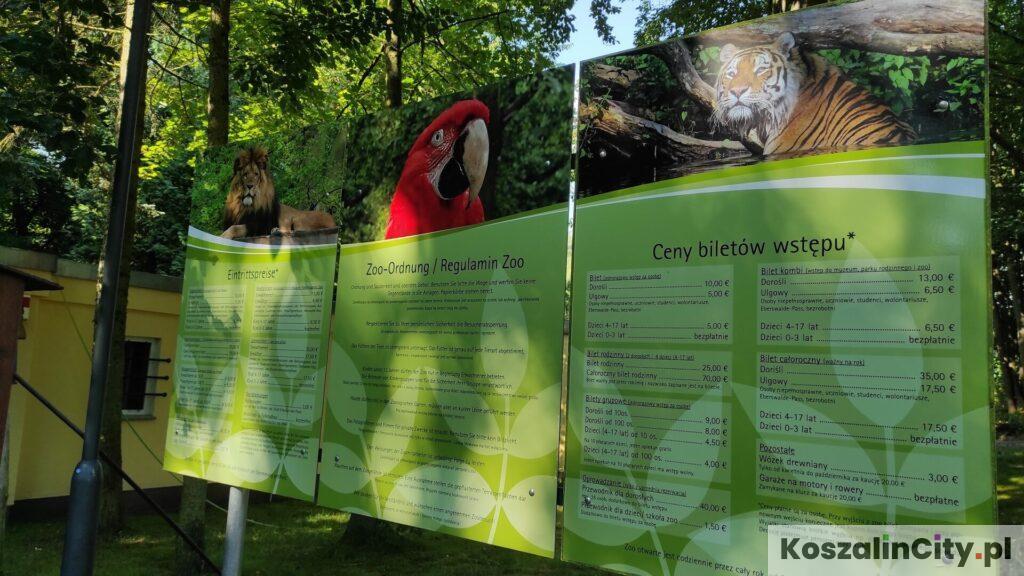 Eberswalde Zoo cennik biletów wstępu