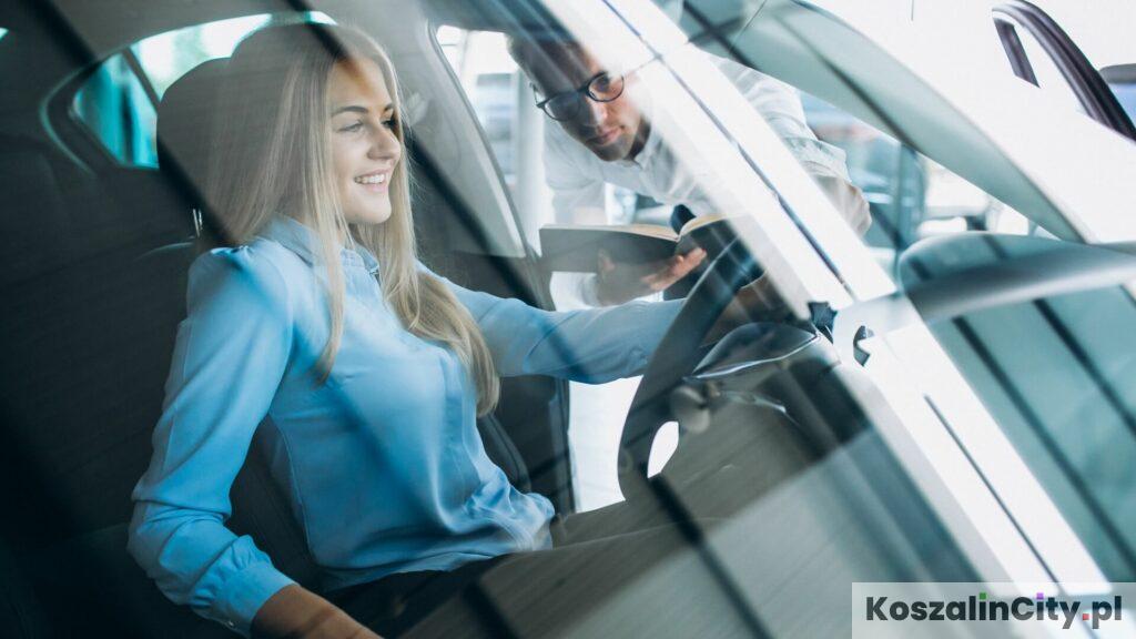 Jazda próbna nowym samochodem w Koszalinie
