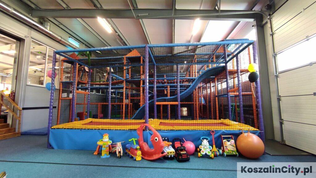 Małpi gaj - największy kryty plac zabaw dla dzieci w Koszalinie