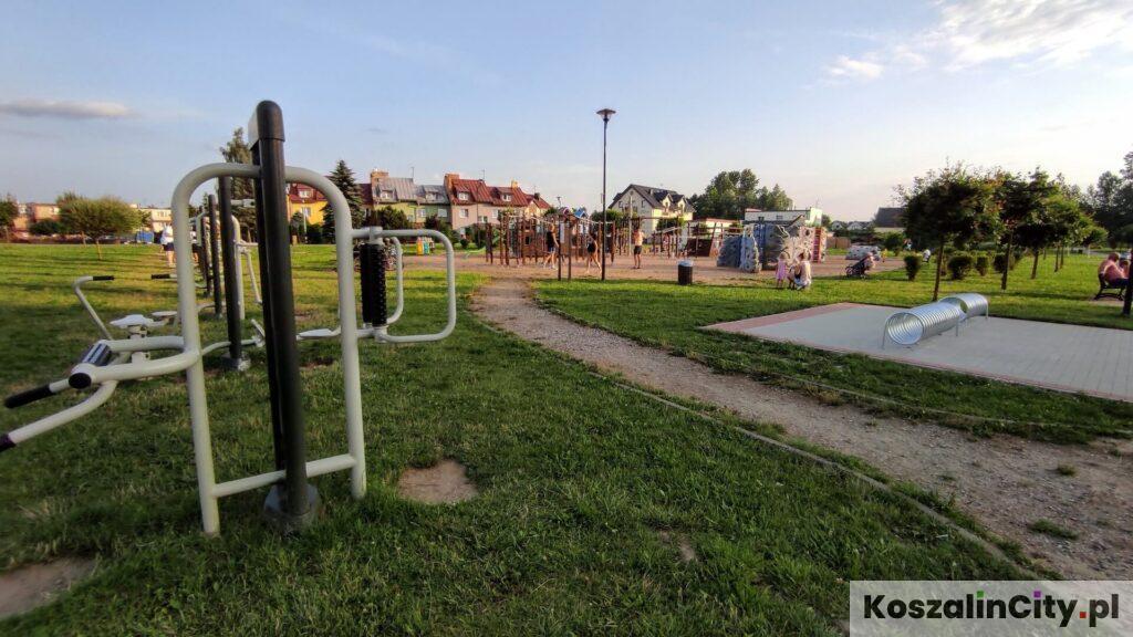 Największy plac zabaw w Mielnie