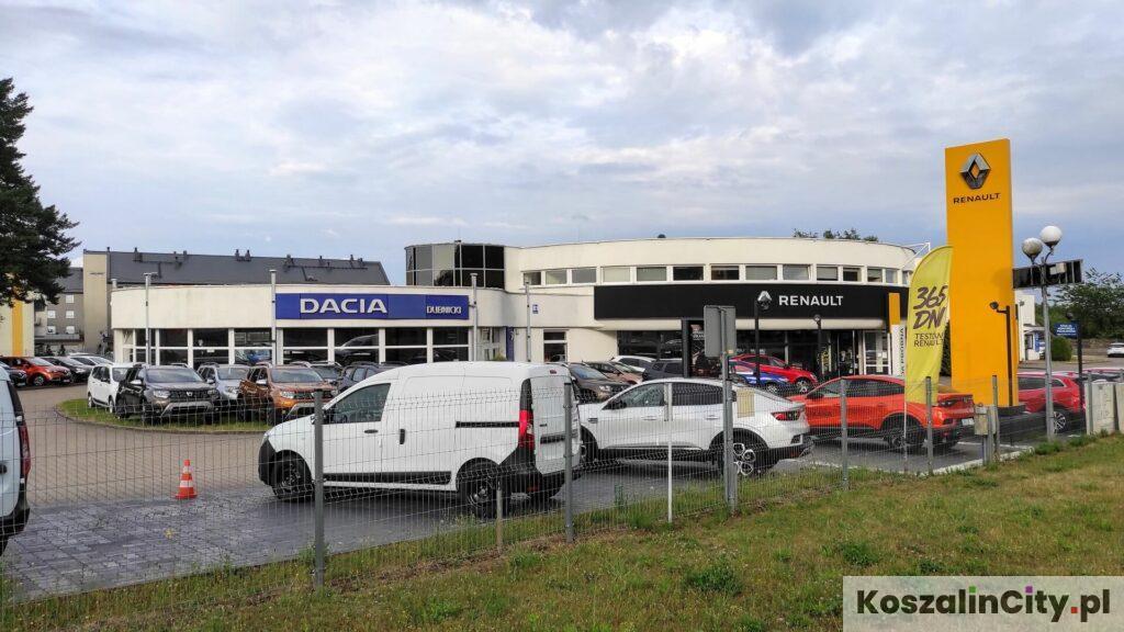 Salon Renault Dubnicki w Koszalinie