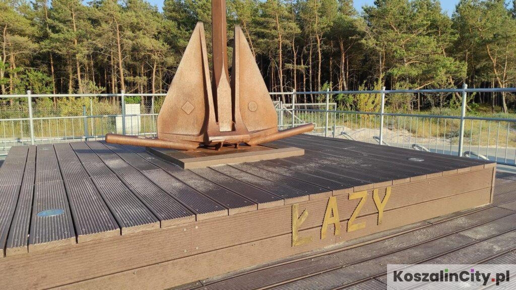 Łazy - pomnik Kotwicy