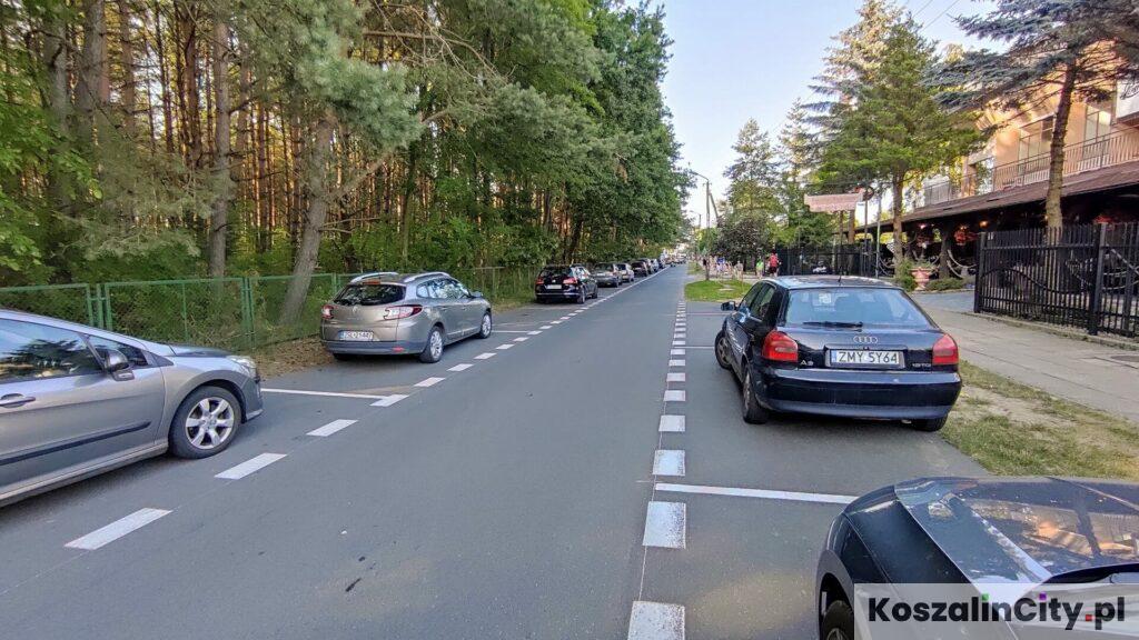 Parking w Łazach