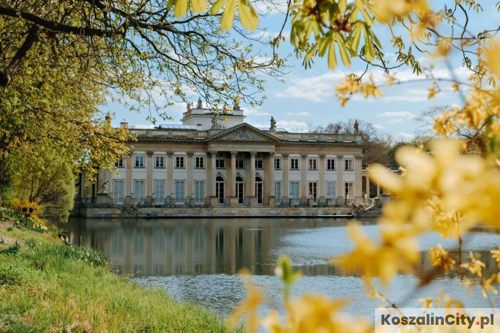Pałac na Wodzie w warszawskich Łazienkach