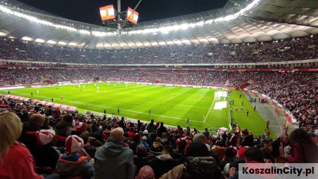 Stadion Narodowy w Warszawie - wyjazd na mecz i widok z trybuny