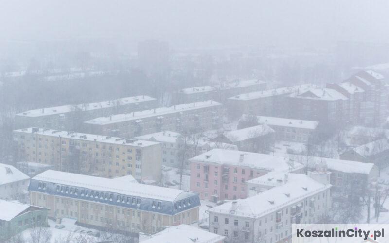 zanieczyszczenie powietrza w Koszalinie - aktualne dane